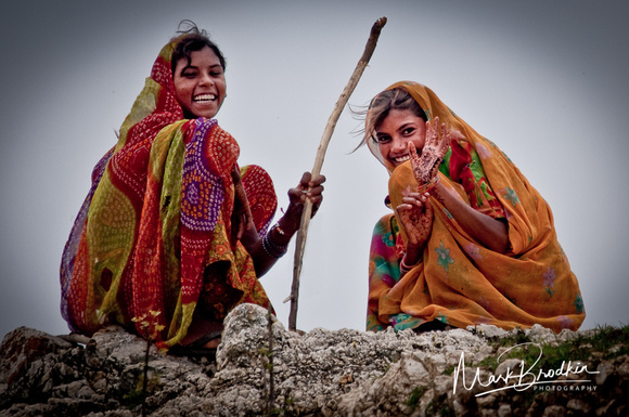 Girls from the Village